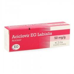 ACICLOVIR EG CREME LABIALE 2GR 50mg/g
