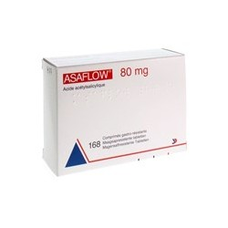 ASAFLOW 80MG 168 COMP