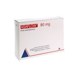 ASAFLOW 80MG 112 COMP