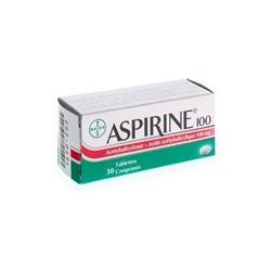 ASPIRINE 100MG 30 COMP