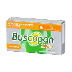 BUSCOPAN 20MG 30 COMP