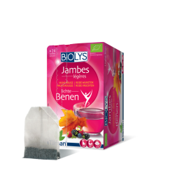 BIOLYS VIGNE ROUGE FRUITS ROUGE TILMAN TISANE 20 Sachets