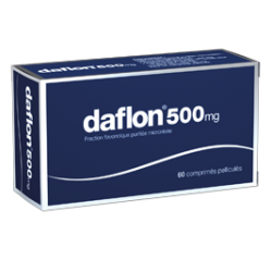DAFLON 500MG 60 COMP