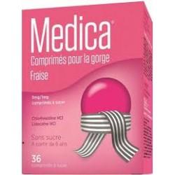 MEDICA FRAISE 36 COMP A SUCER