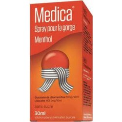 MEDICA MENTHOL SPRAY GORGE