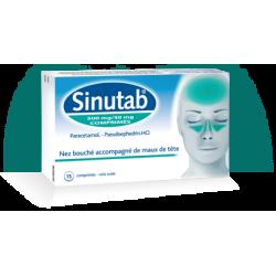 SINUTAB 500/30 15 COMPRIMES
