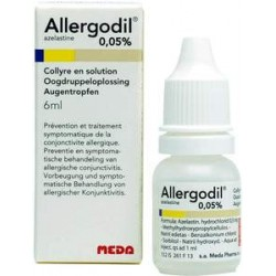 ALLERGODIL COLLYRE 6ML