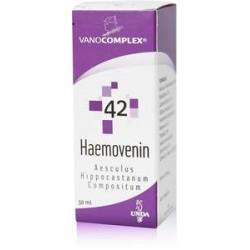 VANOCOMPLEX N 42 HAEMOVENIN GOUTTES 50ML