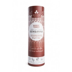 DEODORANT NATUREL TUBE EN CARTON NORDIC TIMBER BEN &ANNA 60 GR