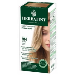 HERBATINT SOIN COLORANT PERMANENT 8N BLOND CLAIR 150 ML