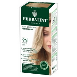 HERBATINT SOIN COLORANT PERMANENT 9N BLOND MIEL 150ML