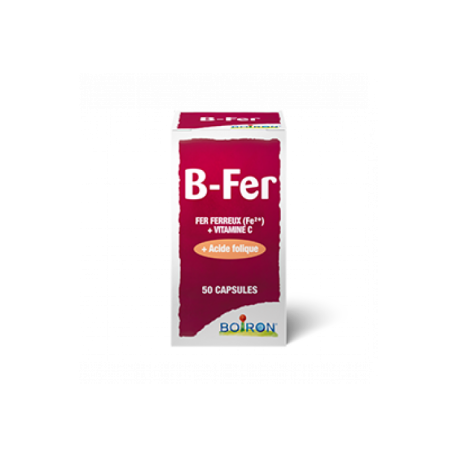 B FER NUTRIDOSES 50 CAPSULES