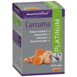 MANNAVITAL CURCUMA PLATINIM 60 V-CAPS