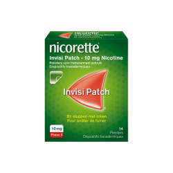 NICORETTE INVISI PATCH 10MG 14 PATCHS