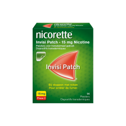 NICORETTE INVISI PATCH 15MG 14 PATCHS
