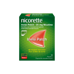 NICORETTE INVISI PATCH 25MG 14 PATCHS