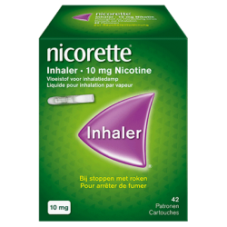 NICORETTE INHALER 42 EMBOUTS