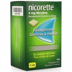 NICORETTE FRESHMINT 4MG 105 GOMMES A MACHER